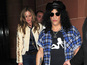 Slash, Trinny dine together - pictures
