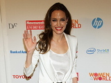 Angelina Jolie The Third Annual 'Women in the World: Stories and Solutions' Summit New York City