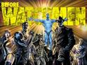 Lee Bermejo illustrates a lineup of the Before Watchmen cast.