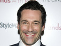 Jon Hamm says that he is flattered by comments about his appearance.