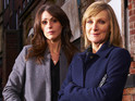 Suranne Jones and Lesley Sharp chat about starring in ITV's drama Scott & Bailey.