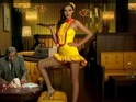Lipton release behind-the-scenes clips of Miranda Kerr filming new commercial.