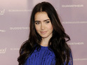 Lily Collins cast in Harald Zwart's film adaptation of The Mortal Instruments.