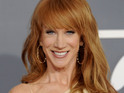 Kathy Griffin announced her talkshow was canceled during a stand-up show.