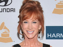 Kathy Griffin and Anderson Cooper's new pilot is shot at CNN studios in NYC.