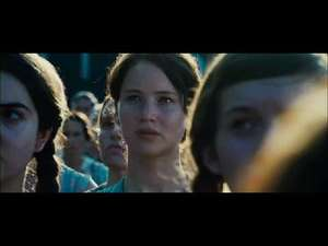 TV trailer for Jennifer Lawrence&#39;s eagerly-awaited action film &#39;The Hunger Games&#39;.