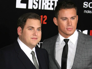 Jonah Hill and Channing Tatum Los Angeles Premiere of '21 Jump Street' held at the Grauman's Chinese Theater - Arrivals Los Angeles, California