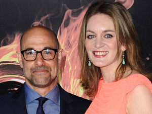 Stanley Tucci, Felicity Blunt, The Hunger Games