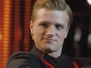 Peeta Mellark is interviewed for The Hunger Games