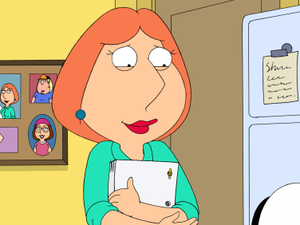 Lois Griffin in 'Family Guy'