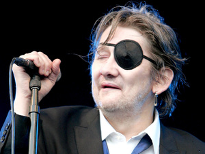 Shane MacGowan of The Pogues Madstock Festival 2009 held at Victoria Park London, England