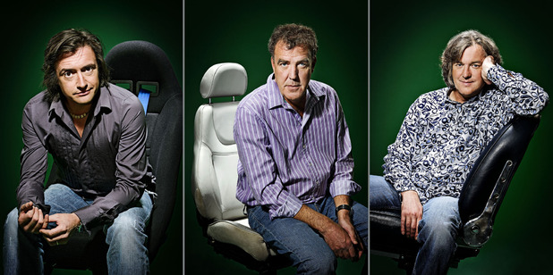 Top Gear: Richard Hammond, Jeremy Clarkson, James May
