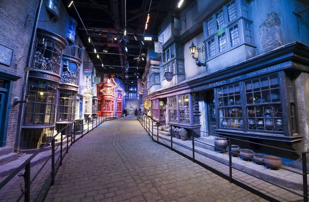 Diagon Alley, Harry Potter Studio Tour