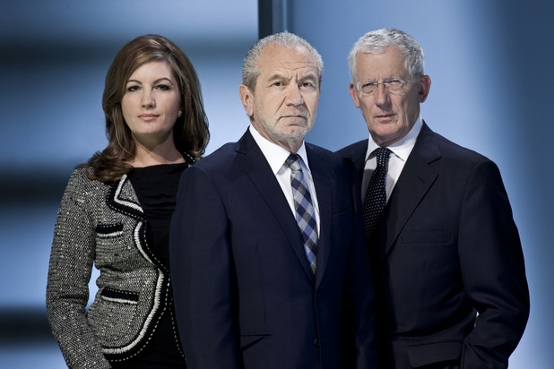 The Apprentice - Karren Brady, Lord Sugar, Nick Hewer