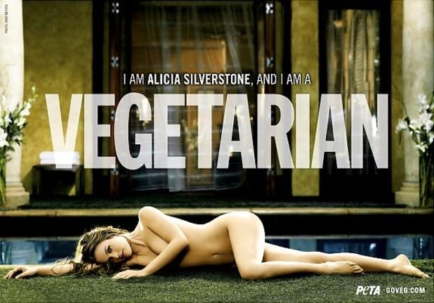 Alicia Silverstone, PETA