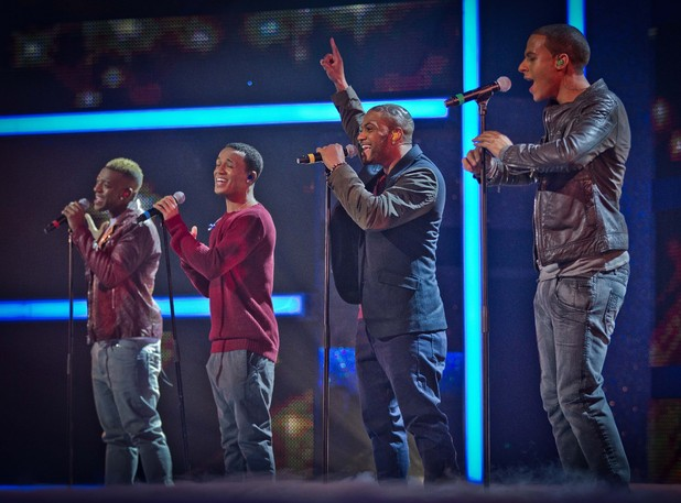 JLS perform the official Sport Relief single.
