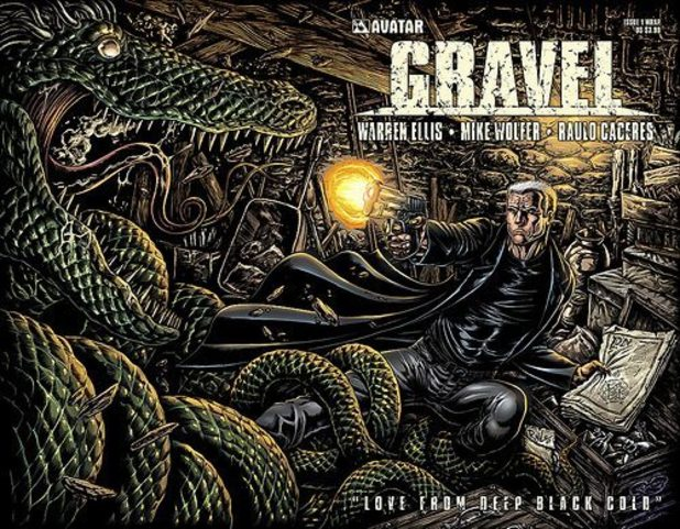 'Gravel' artwork