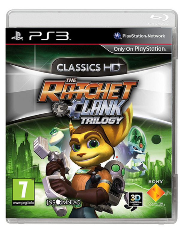 Ratchet and Clank trilogy pack shot