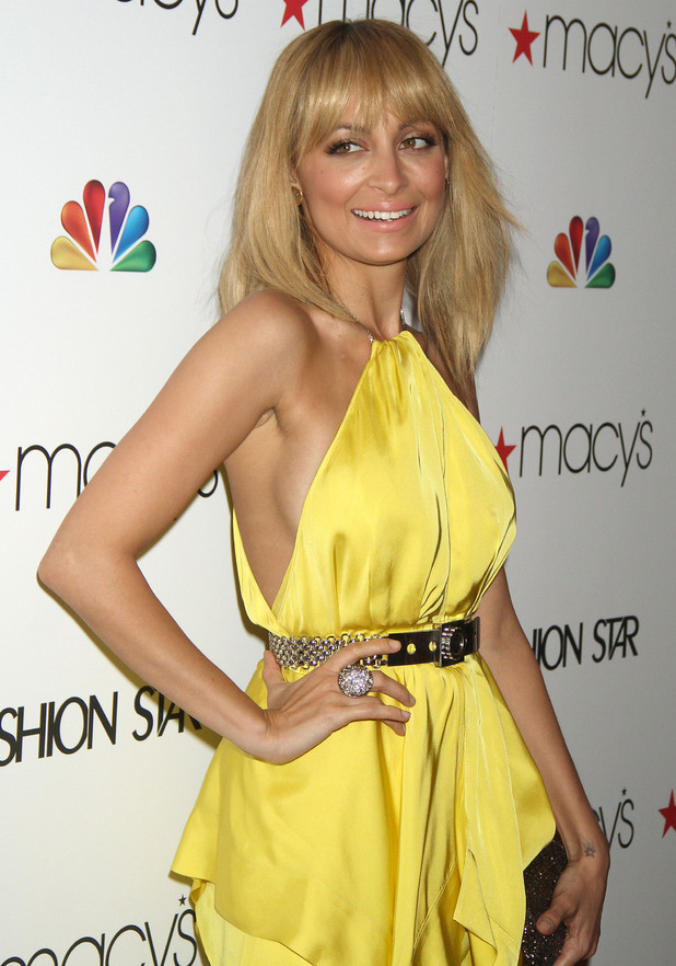 Nicole Riches, at the premiere party of  NBC's Fashion Star at Macy's Herald Square store. New York City, USA
