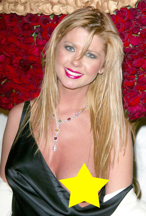 Big Brother contestant Tara Reid suffers a wardrobe malfunction