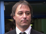 Peter Buck, guitarist with rock band REM