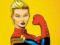 Carol Danvers is the first female to lead a Marvel Studios superhero movie.