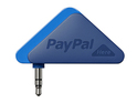PayPal Here puts the firm in direct competition with Square and Google Wallet.