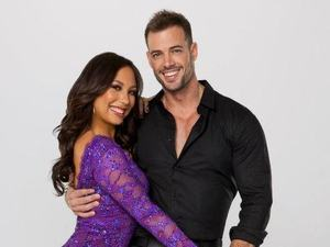 Dancing with the Stars: William Levy, Cheryl Burke (Season 14 couple portraits)