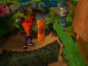 'Crash Bandicoot' screenshot