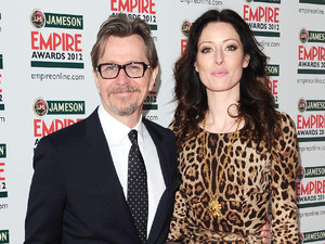 Gary Oldman and Alexandra Edenborough.
