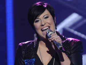 American Idol Season 11 - The Top 10 Perform - Erika Van Pelt