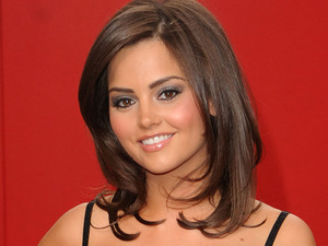 Jenna Louise Coleman at the 2009 British Soap Awards