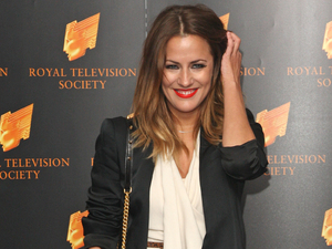 Caroline Flack The RTS Programme Awards 2012- Arrivals London