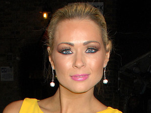 Nicola Mclean at the launch of Amy Childs' SS12 Clothing Collection launch at the Gilgamesh Bar