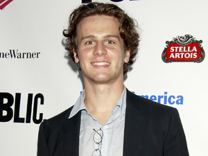 Jonathan Groff - Best known for his role as Jesse St. James in US TV&#39;s Glee, the singer also turns 27 today.