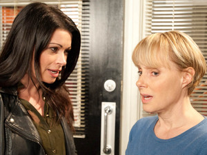 Carla is given an offer to carefully consider when Sally suggests buying Frank's share of the factory with her lottery winnings