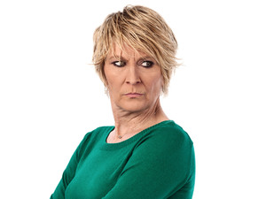 Linda Henry as Shirley Carter in EastEnders