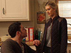 Debbie marches over to the Barton's and warns Adam that if the police question her, she will tell them the truth