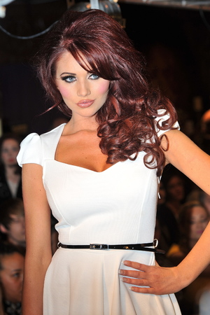 Amy Childs at the launch of Amy Childs' SS12 Clothing Collection launch at the Gilgamesh Bar