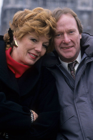 Rula Lenska as Isabel and Dennis Waterman as Thomas in 'Stay Lucky'