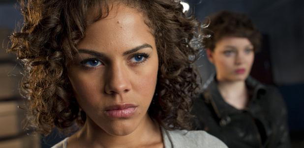 Annie (Lenora Crichlow), Alex (KATE BRACKEN)