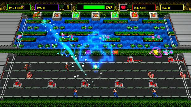 'Frogger: Hyper Arcade Edition' screenshot