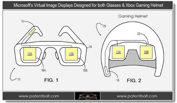 Microsoft headset patents, sketch