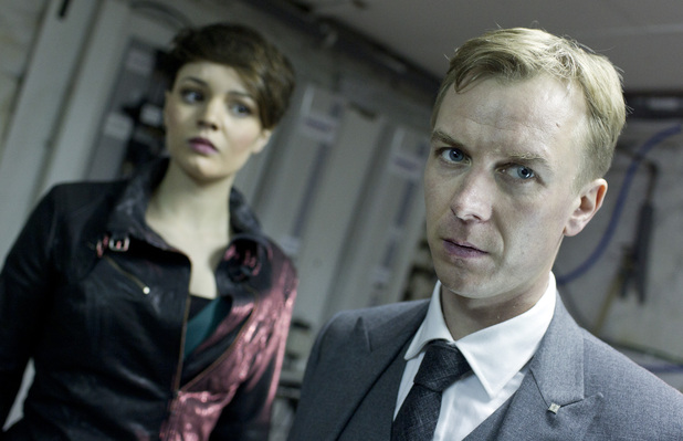 Alex (KATE BRACKEN), Mr Rook (STEVEN ROBERTSON) 