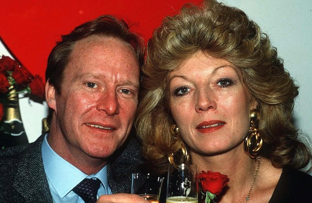 Rula Lenska and Dennis Waterman