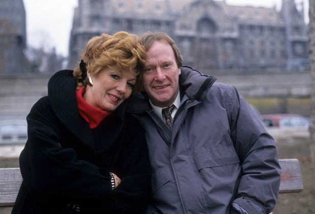 Dennis Waterman and Rula Lenska