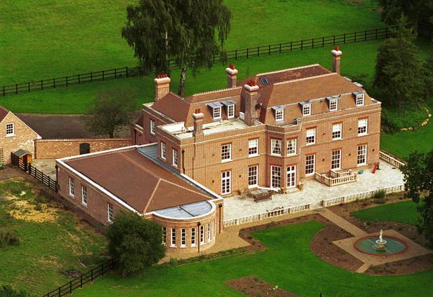 ''Beckingham Palace'', Victoria and David Beckham's £2.5 Million mansion on the Hertfordshire/Essex borders, UK