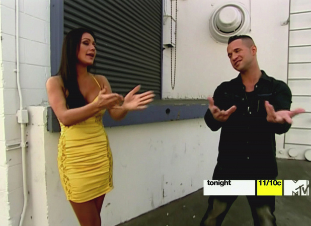Jenni 'JWoww' Farley and Mike 'The Situation' Sorrentino MTV's 'Jersey Shore' Season 5 Reunion The cast members relive the highs and lows of their summer on the shore