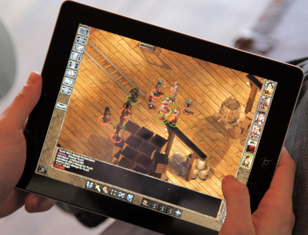 &#39;Baldur&#39;s Gate&#39; iPad port 