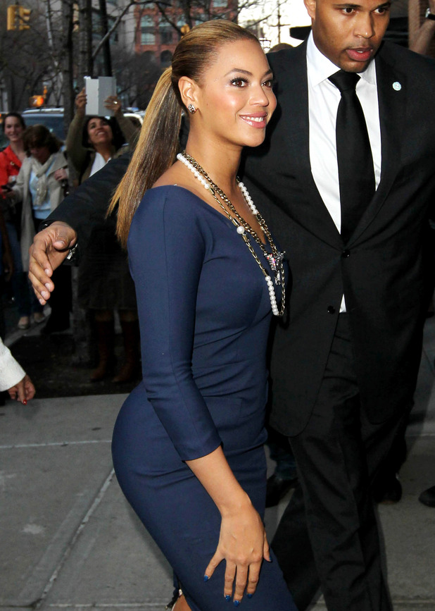 Did beyonce give birth to blue ivy or not we have finally found proof
